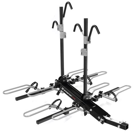 swagman bike racks swagman xtc4 4 bike rack for 2 quot hitches platform style