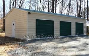 Metal garages steel buildings steel garage plans for 30x50 shop cost