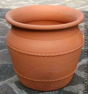 Terracotta Töpfe Groß : bertopf blumentopf gro stabil mediterran massives terracotta terrakottafarben ebay ~ Eleganceandgraceweddings.com Haus und Dekorationen