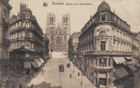 ebru la rue sainte gudule en vieilles photos et cartes