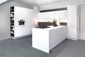 Moderne Küchen U Form : u k che zerox hpl snow zerox grey real oak ~ Sanjose-hotels-ca.com Haus und Dekorationen
