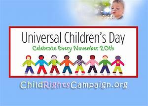 Universal Children's Day – OMEP-USA, making a difference ...