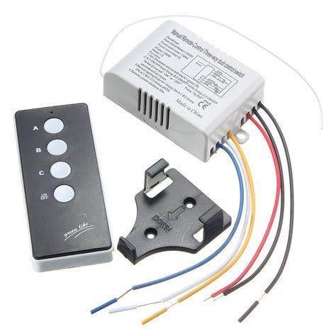 wireless light switch transmitter and receiver other gadgets 220v wireless on off 3 way l light