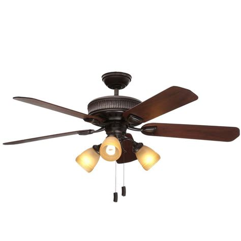 casablanca ceiling fans home depot casablanca ainsworth gallery 54 in indoor onyx bengal