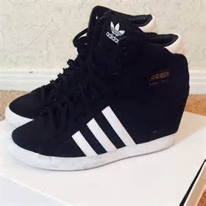 Luggage Closet by 42 Off Adidas Shoes Adidas Suede Hidden Wedge Sneaker