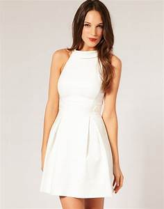 20+ Elegant All White Casual Dresses