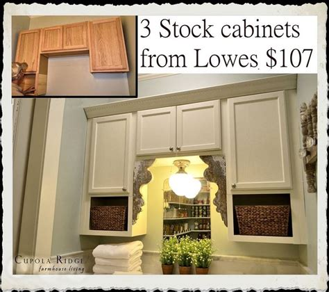 how to make stock cabinets look custom 12 best images about laundry room on pinterest money