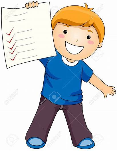 Test Clipart Paper Exam Clip Results Examination