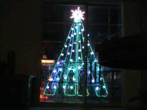 virtual  dimensional outdoor christmas tree youtube