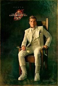 Catching Fire portrait series 8 - Josh Hutcherson as Peeta ...
