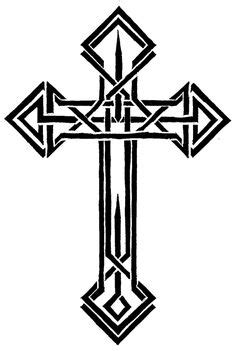 Templar Cross Tattoo Clipart   Free download on ClipArtMag
