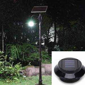super bright yard lamp solar panel garden light 3 led lights With outdoor solar lamp not working