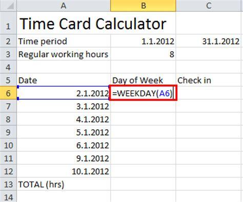 number work days calculator