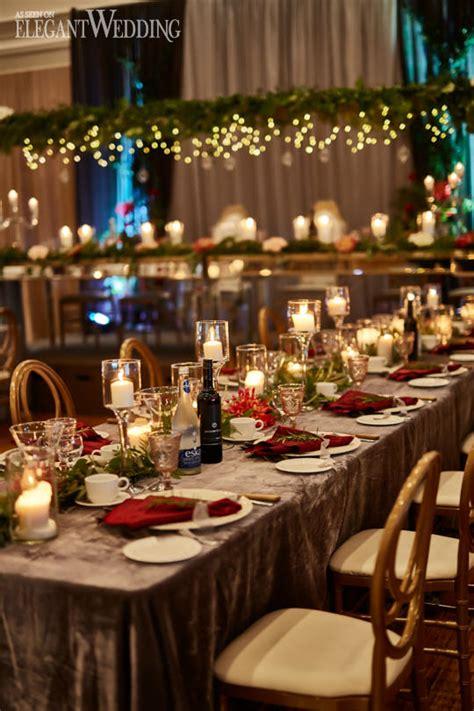 red gold fall wedding theme elegantwedding ca