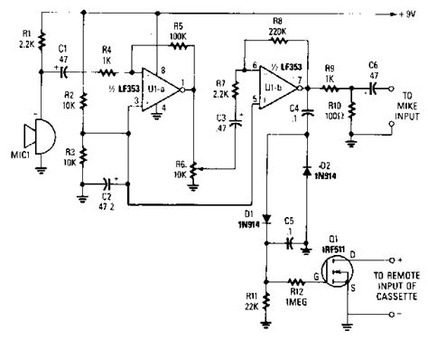Sound Activated Switch Circuit Diagram World