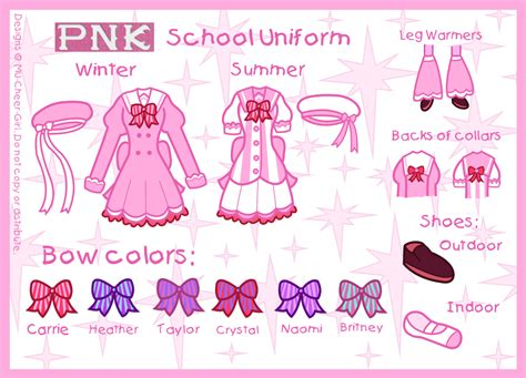 Pnk School Uniform By Mu-cheer-girl On Deviantart