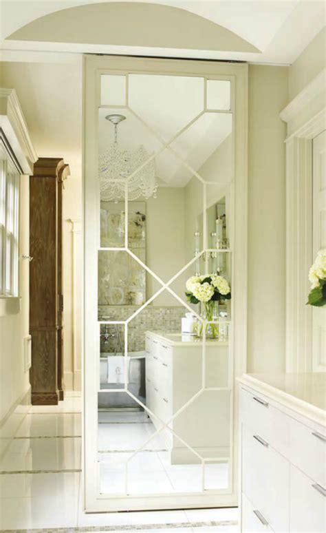 mirrored fret door  closet courtney giles interior
