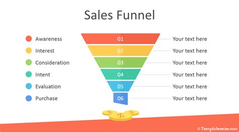 sales funnel powerpoint template templateswisecom