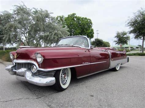 1954 Cadillac Eldorado by 1954 Cadillac Eldorado 2 Door Convertible
