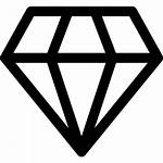 Diamond Shape Svg Outline Icon Outlined Vector