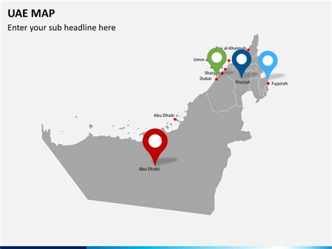 template uae ppt uae map powerpoint sketchbubble