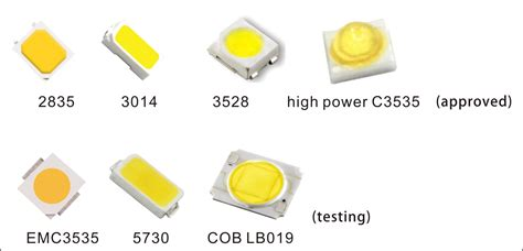 Honglitronic Smd 2835 & 3014 White Led Package Approved