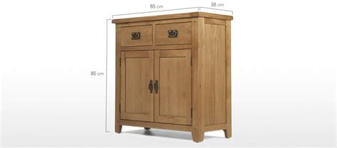 Rustic Oak Small Sideboard by Rustic Oak Small Sideboard Quercus Living