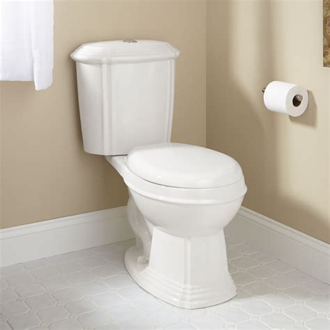 regent dual flush toilet  elongated bowl white