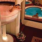 poconos glass tub pocono palace the hotel with a glass chagne bathtub