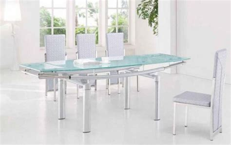 extension dining room tables top 20 extendable glass dining tables dining room ideas 7105