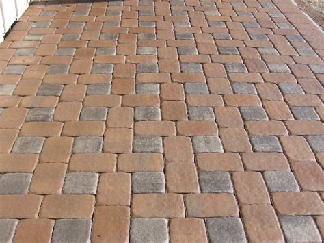 different layout paver patterns the landscape design brick