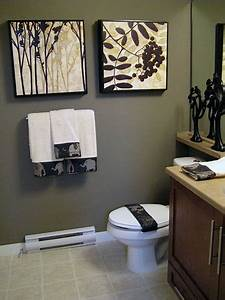 DIY Bathroom Decor on Pinterest