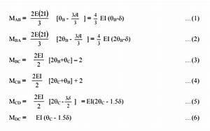 Solved Problems  Slope Deflection Method