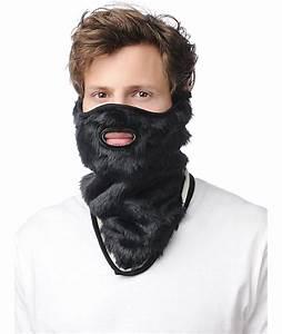 Neff Lumberjack Black Beard Face Mask Bandana At Zumiez   Pdp