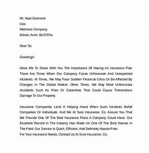 Marketing cover letter examples 10 download free for Insurance marketing letters that work