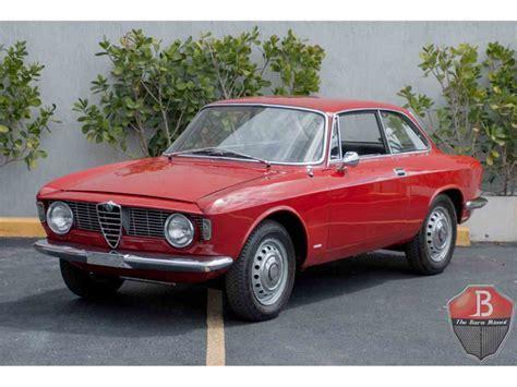Vintage Alfa Romeo For Sale by 1965 Alfa Romeo Giulietta Spider For Sale Classiccars