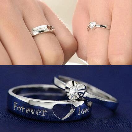 ideas  couple rings  pinterest promise