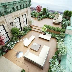 Terrasse dekoration mit geometrischen formen all in one for Terrasse dekoration