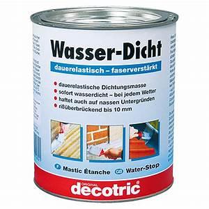 Holz Versiegeln Wasserdicht : decotric wasser dicht grau 750 ml dauerelastisch ~ Lizthompson.info Haus und Dekorationen