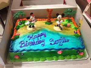 Mickey & Minnie sheet cake | My cakes | Pinterest | Sheet ...