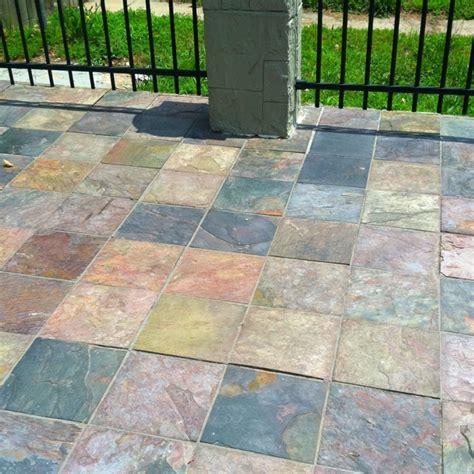 patio slate slate patio for the home pinterest