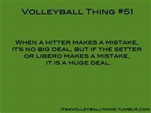 Middle Hitter V... Setter And Hitter Quotes