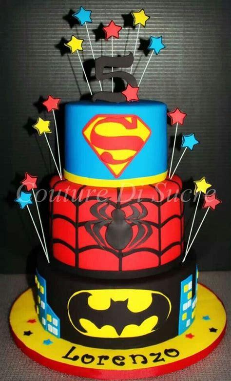 Happy Birthday Andrew From Spider Man Cake