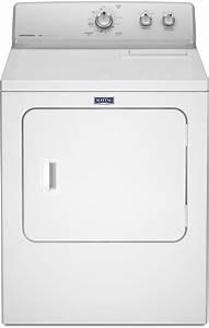 Maytag Medc215ew 29 Inch 7 0 Cu  Ft  Electric Dryer With