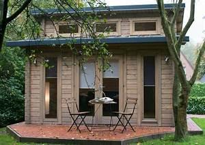 Klein aber fein in diesem pultdach gartenhaus befindet for Französischer balkon mit garten 40 qm