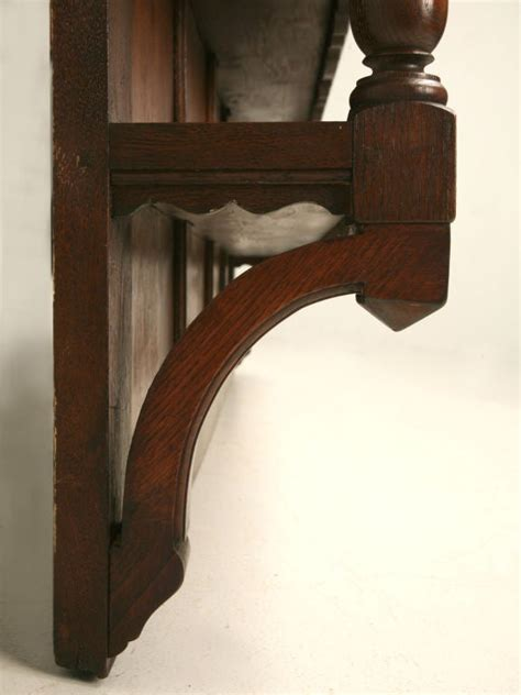 oak country french plate rack  stdibs