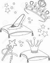 Coloring Princess Maerchen Kleurplaat Wand Prinses Collectibles Ausmalbilder Princesse Della Malvorlagen Fairy Kleurplaten Stockillustratie Coloritura Pagina Coloriage Elegante Kidspressmagazine Disney sketch template