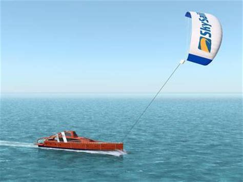 Sailing Boat With Kite by New Age Trawler Motorsailer Kite Assisted Poweryacht