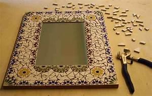 Spiegel Zum Basteln : mosaik basteln 25 kreative ideen zum selbermachen ~ Orissabook.com Haus und Dekorationen