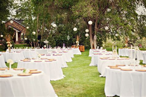 decoration jardin reception